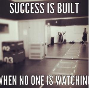 Successisbuilt