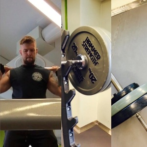 Holiday leg day action in Finland. #TEAMCROSSCHECK